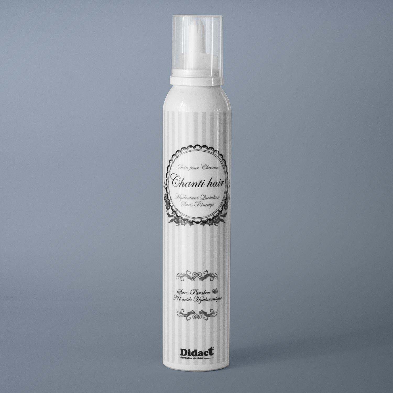 Soin cheveux gourmand, riche en acide hyaluronique, sans paraben - Didact e-shop