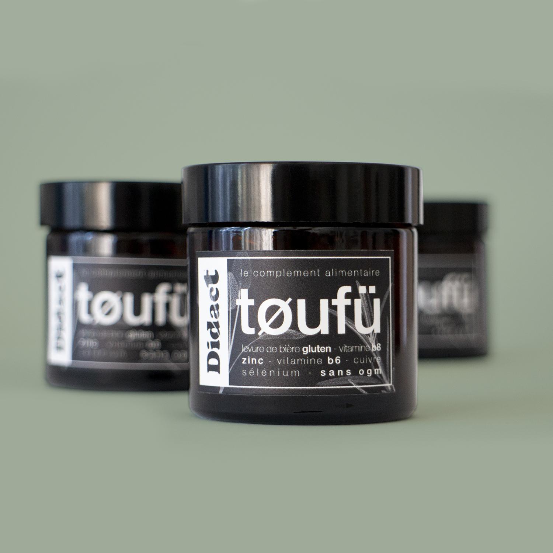 vitamines cheveux TØUFÜ - Didact e-shop