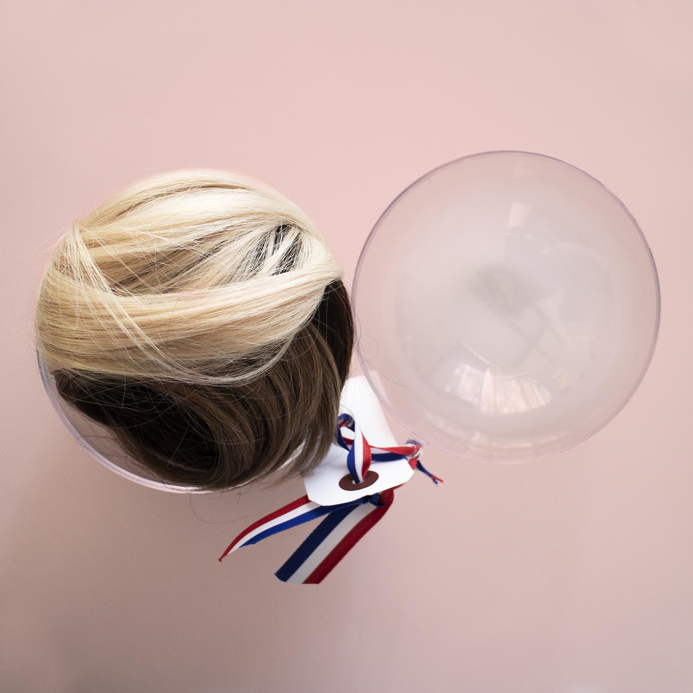 Postiche Perruque cheveux 'SuperBun' - Didact e-shop