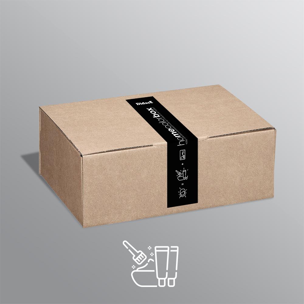 tube + oxydant - home color box